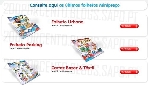 Novos Folhetos   MINI PREÇO   Já Online, de 14 a 27 novembro