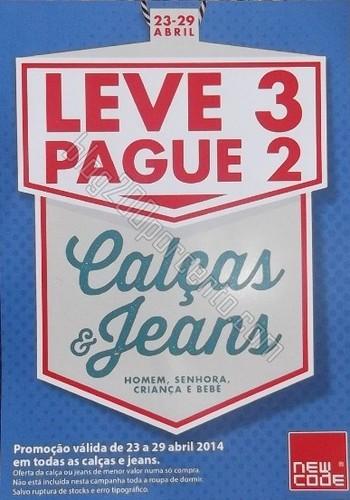 Leve 3 Pague 2 | CODE / PINGO DOCE | até 29 abril