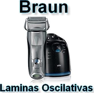 Máquina de barbear Braun