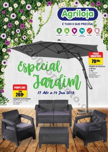 Antevisão Folheto AGRILOJA Especial Jardim promo