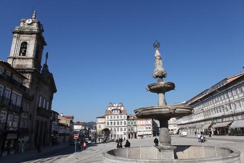 Largo do Toural, em Guimarães