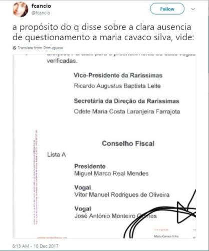 2017-12-12 Raríssimas Maria Cavaco Silva.jpg