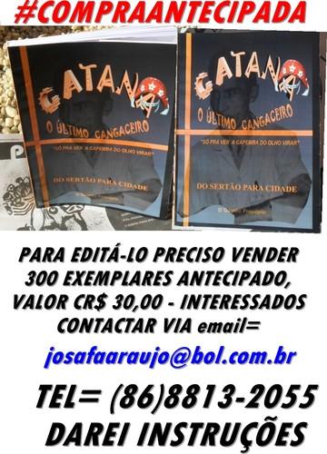 CATANÃ/COMPRE O LIVRO/ ANTECIPADO