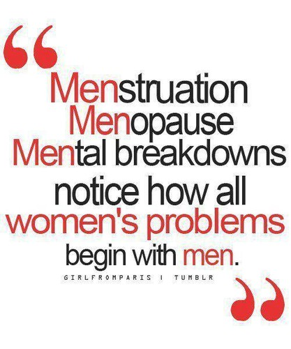 Todos os problemas das mulheres