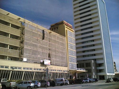 Hotel Mercure em obras na Figueira Da Foz