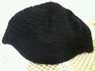 Parte superior da boina... Top of the beret. 702c27fb3ec