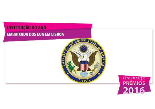 Instituição do Ano - Embaixada dos EUA em Lisboa