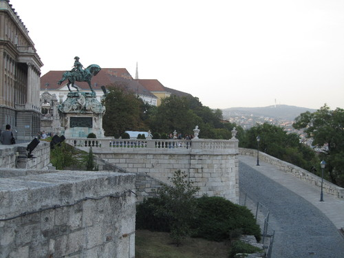 Budapeste - estátua de Eugénio de Sabóia