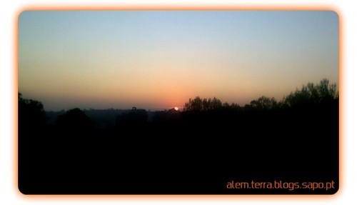 O ultimo pôr-do-sol de 2011 - São Martinho da Gandara – 22 de Setembro de 2011