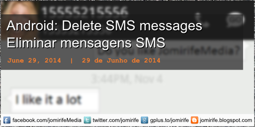 Blog post: Android: Delete SMS conversation from a contact