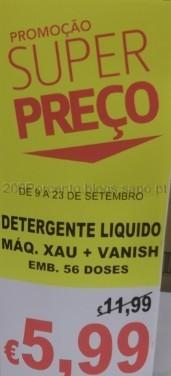Detergente Liquido Máq. Xau + Vanish