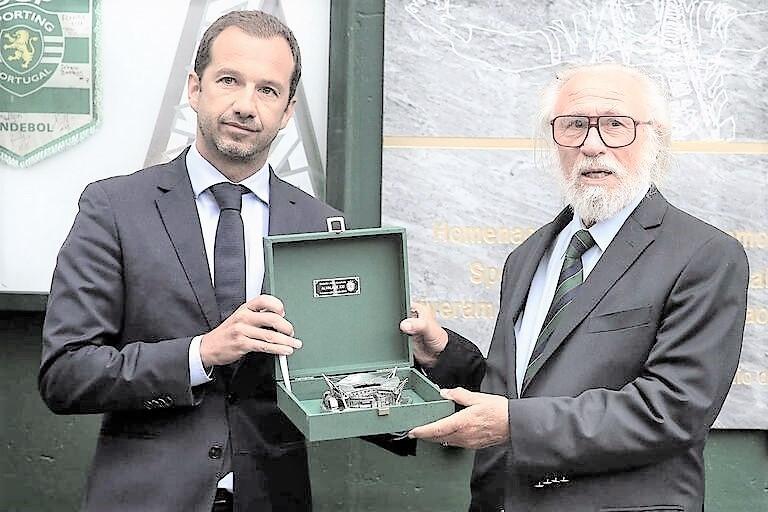 Presidente Frederido Varandas e Dr. Domingos Gomes