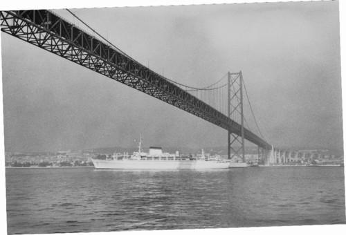 Ponte Salazar, Lisboa (Horácio de Novais, s.d.)
