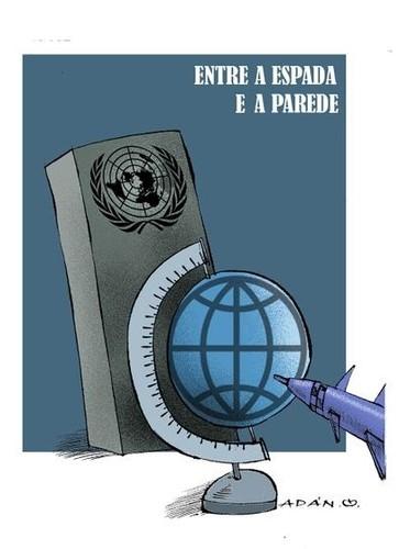 espada parede ONU