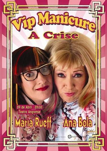 Maria Rueff e Ana Bola em Angra...