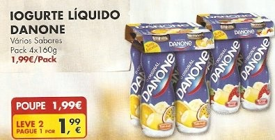 Iogurtes Danone