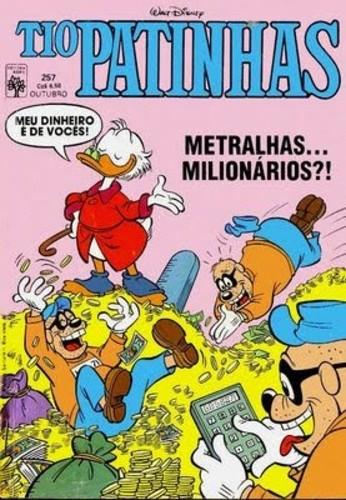 «Metralhas milionários»,Tio Patinhas nº 257, 1986 (in Universo Disney)
