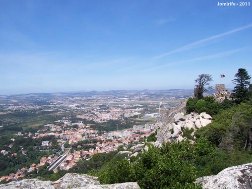 Sintra: Castelo dos Mouros - Vista