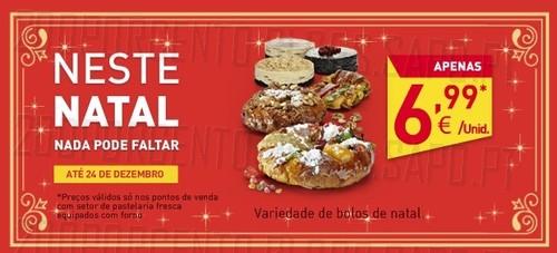 Promoção em Bolos | INTERMARCHÉ | até 24 dezembro
