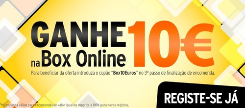 Oferta 10€ | BOX | do Jumbo  Online