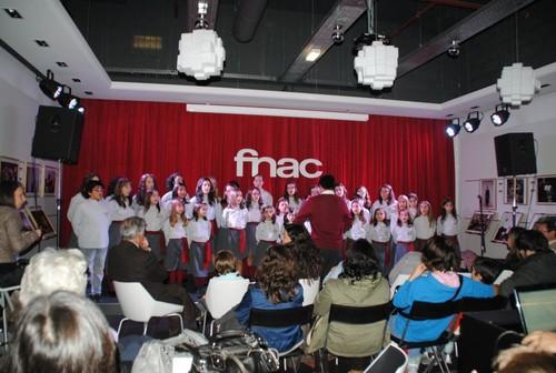 Lançamento do CD encantar na FNAC em Leiria - 3/12/2011
