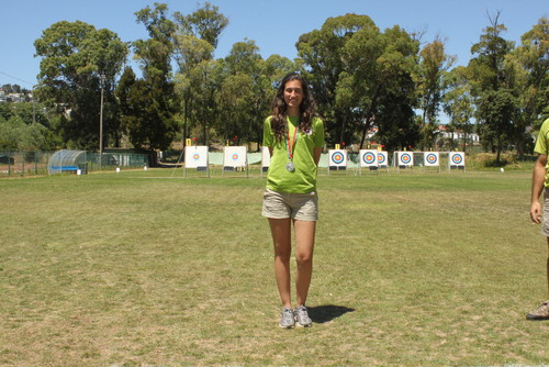 Filipa Dionísio Vice-CN Cadete Senhora Recurvo - 2012