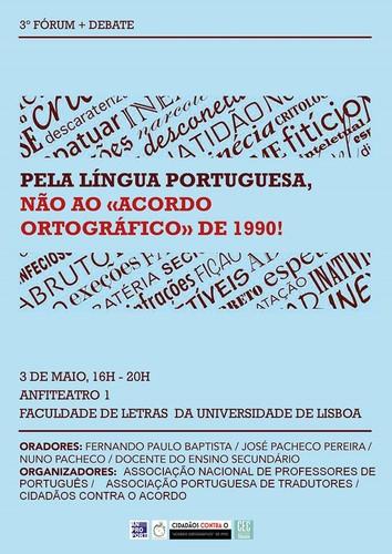 Fórum, 3 Maio 2017, Fac. de Letras da U. de Lisbo