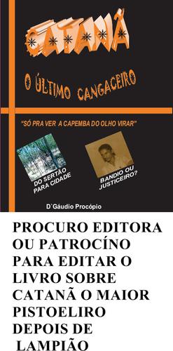 PROCURO EDITORA/LIVRO CATANÃ
