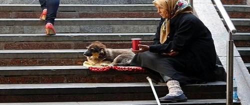 solidão e pobresa
