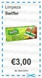 Acumulação Super-Preço + Vale | CONTINENTE | Swiffer
