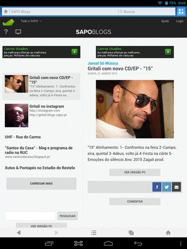 Vasco Gritali na imprensa Portuguesa
