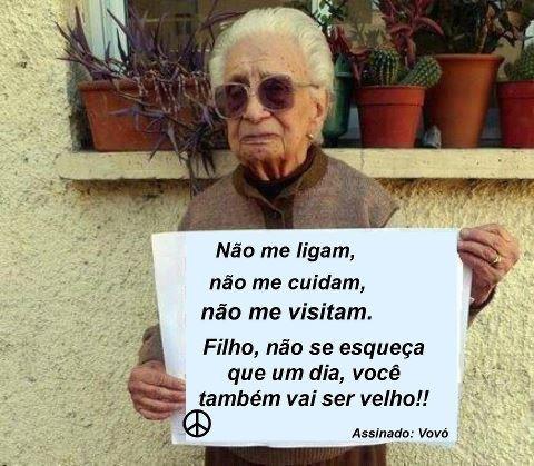 Frases Do Facebook Filho Não Esqueças Um Dia Também Vais Ser