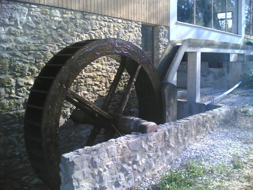 Moinhos da Gândara - Roda do moinho de água