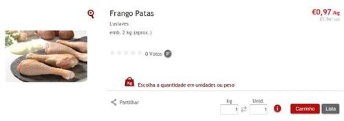Super Preço | CONTINENTE | Frango a 0,97€