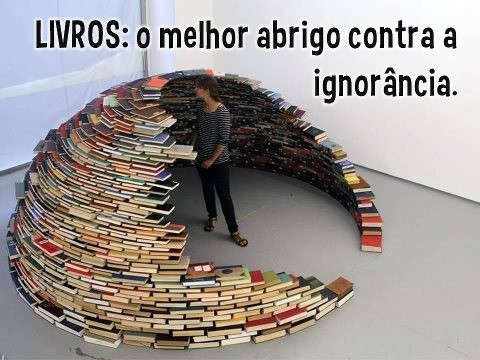 Livro o melhor abrigo contra a ignorância