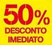 50% imediato continente