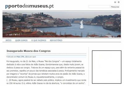 Museu Rei dos Congros no pportodosmuseus