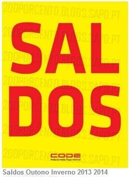 Saldos | CODE / PINGO DOCE | até 70% de desconto