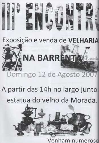 velharias barrenta 2007