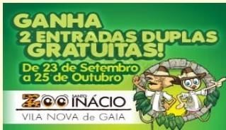 Passatempo, Ganha Bilhetes para o ZOO Santo Inácio, até 25 outubro, participa