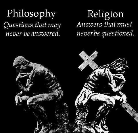 Filosofia versus religião