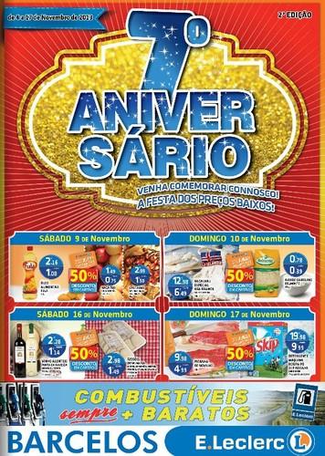 Novo folheto | E-LECLERC | Barcelos, de 4 a 17 novembro