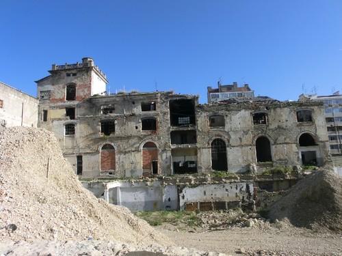 Ruínas da fábrica de cervejas, Arroios, 2012