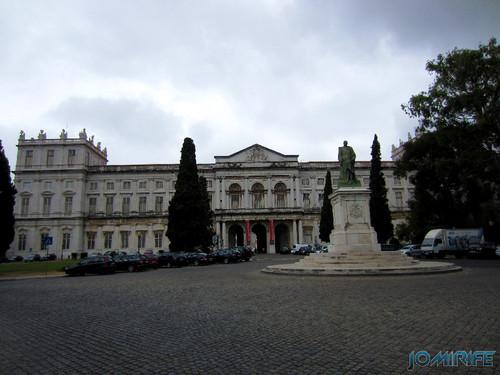 Lisboa - Palácio Nacional da Ajuda - Frente (2) [en] Lisbon - Ajuda National Palace - Front