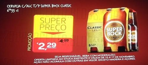 Super Preço | CONTINENTE | Super Bock