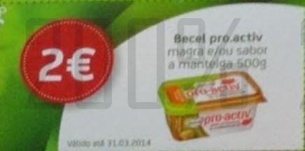 Acumulação 50% + Vale | PINGO DOCE | de 25 a 31 março - Becel