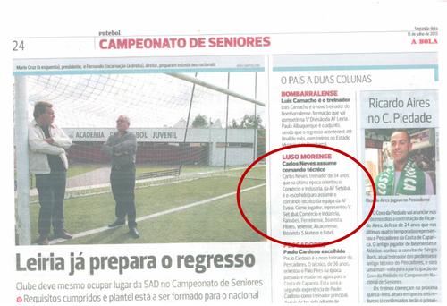 Jornal A BOLA 15072013