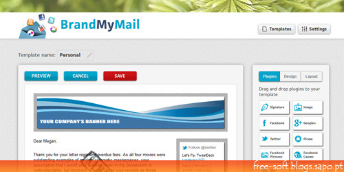 brand my mail - free Newsletters