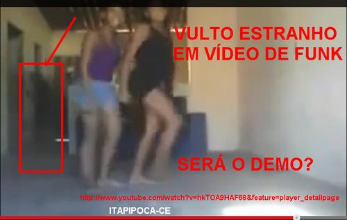 DEMONIO APARECE EM VIDEO DE FUNK