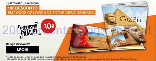 desconto de 10€ em livros de fotos